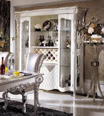 Silver Dining Chairs Silver Dining Room In Italian Styletop And Best Italian Classic