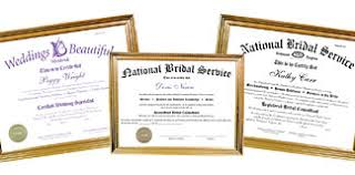 wedding planner certification national bridal service