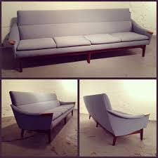 Huber Blue In Kitchen Sold This 1960s Huber Sofa Comes In At A Staggering 8 Feet And Can