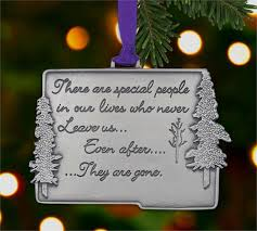 memorial ornament special never leave us memorials
