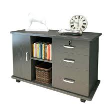 rolling file cabinet wood drawer with lock drawer office filing cabinets online black wood