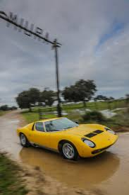 lamborghini back miura ends 50th anniversary back at namesake farm classiccars