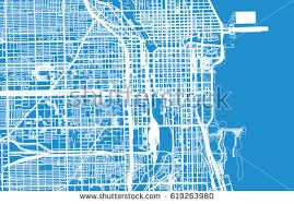 chicago map streets chicago streets stock images royalty free images vectors