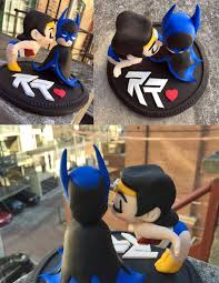 batman wedding cake toppers batman woman wedding cake topper by pnutink on deviantart