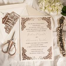 gold foil wedding invitations justine alex s luxurious gold foil wedding invitation suite