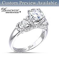 bridal rings images Ring once upon a romance personalized diamonesk bridal ring 0,0,0