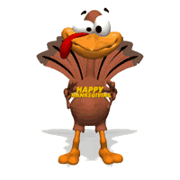 turkey happy thanksgiving sign text animation animations animated