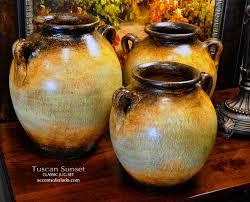 Classic Vases Ttuscan Sunset Jugs Vases