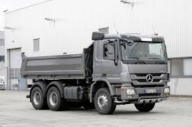 mercedes truck white new mercedes benz construction actros celebrating world premier at