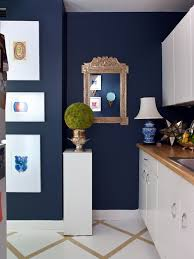 white and navy blue kitchen eclectic kitchen sara tuttle