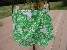 hawaiian pattern skirt zet s vintage store girl s old navy green and white hawaiian