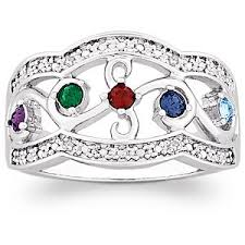 cheap mothers day rings 45 best personalized jewelry for images on