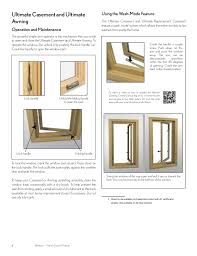 Awning Window Lock Marvin Windows And Doors Owners Manual