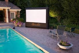 Backyard Projector Backyard Theater Rental Backyard And Yard Design For Village