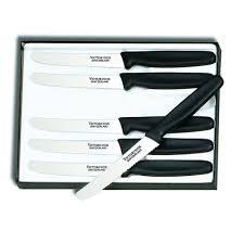 victorinox kitchen knives set 6 tip steak knife set