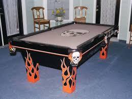 Felt Pool Table by Skull Pool Table Felt Pool Table Accessories Pinterest Pool