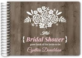 bridal shower guest book custom bridal shower guest books bridal party guestbooks