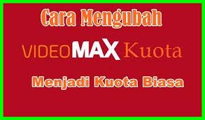 cara mengubah paket vidio max jadi paket reguler menggunakan aplikasi anony tun cara merubah kuota videomax jadi kuota regular tekno jaya