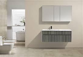 Modern Bathroom Cabinet by Fitto 48 U2033 Ash Gray Wall Mount Modern Bathroom Vanity