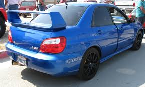 modified subaru impreza 2004 subaru impreza wrx sti 1 8 mile drag racing timeslip 0 60