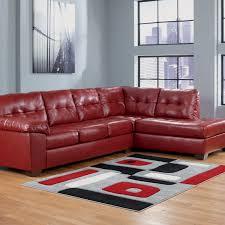 Ashley Raf Sofa Sectional Signature Design By Ashley Alliston Durablend 2 Pc Sectional Raf
