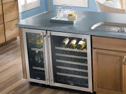 wine coolers built in side by side four glide out wine racks 30