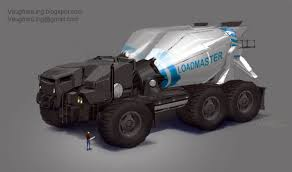 future military vehicles xtreme car vehicle concept art by vaughan ling