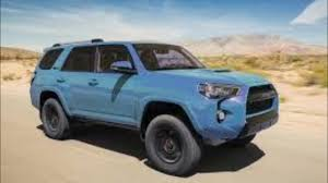 toyota 4runner 2018 toyota 4runner trd pro in cavalry blue 08w2 first pictures