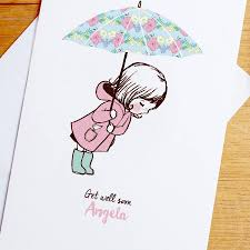 get well soon cards personalised get well soon card by rosie radish