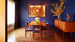 How To Get A Blue And Orange Dining Room Home Design Lover - Orange dining room