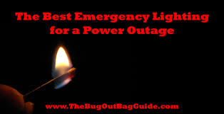 emergency lights when power goes out the best emergency lighting for a power outage the bug out bag guide