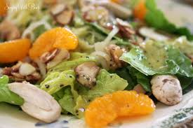 spinach salad with poppy seed dressing cheery kitchen