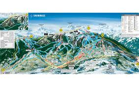 New Mexico Ski Resorts Map by Snowmass Ski Area Ski Snowmass Review