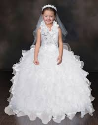 beautiful quinceanera dresses white ruffled communion quinceanera gown