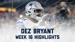 dez bryant 3 total td lions vs cowboys nfl week 16