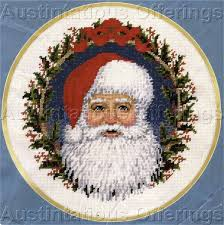 christmas needlepoint elsa williams needle treasures