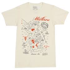 Map Westeros Amazon Com Game Of Thrones Westeros Map Men U0027s T Shirt Clothing