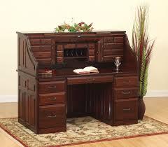 Oak Crest Desk Roll Top Desks Custom Office Desks Rochester Ny Jack Greco