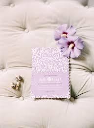 Lavender Wedding Invitations Purple Wedding Invitation Ideas Trendy Bride Magazine