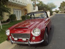 datsun roadster 1967 datsun 1600 roadster convertible highly collectable