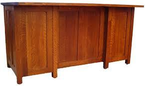 mission executive desk in solid hardwood ohio hardwood furniture