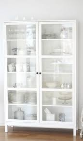 white glass storage cabinet white cabinet ikea my cottage style pinterest white cabinets