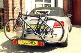 audi bicycle audi a4 cabrio bike rack