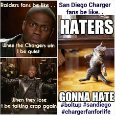 Raiders Chargers Meme - 52 best san diego chargers images on pinterest san diego