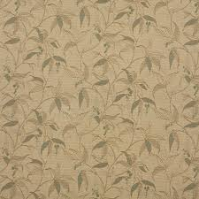 Indoor Outdoor Fabric For Upholstery Beige Tan And Teal Floral Vine Indoor Outdoor Upholstery Fabric By
