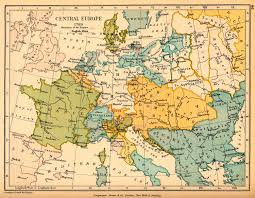 Ancient Europe Map by Map Of Central Europe In 1789