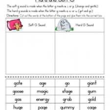 hard g and soft g worksheet phonics worksheets letter sounds