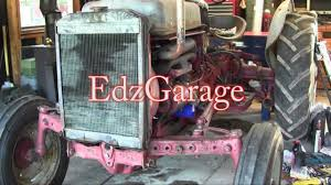 ford jubilee naa tractor engine rebuild part 16 wiring front axle