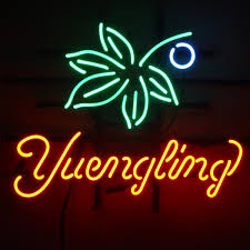 ohio state neon light fashion new handcraft yuengling beer real ohio state buckeye real