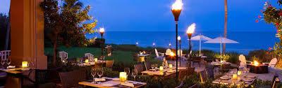 The Dining Room At Little Palm Island by Baleen Restaurant Naples Beach Restaurants Laplaya Beach Resort